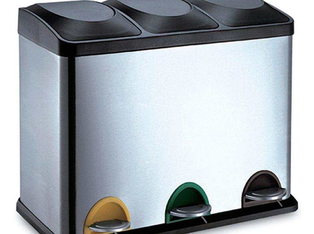 Cubos de basura Jerko de apertura por palanca