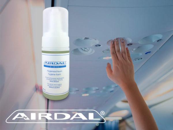 Airdal, protección de larga duración contra virus i bacterias