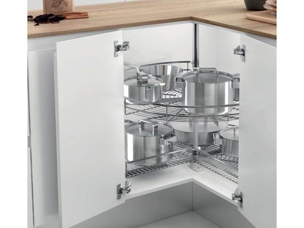 módulos extraíbles para cocina