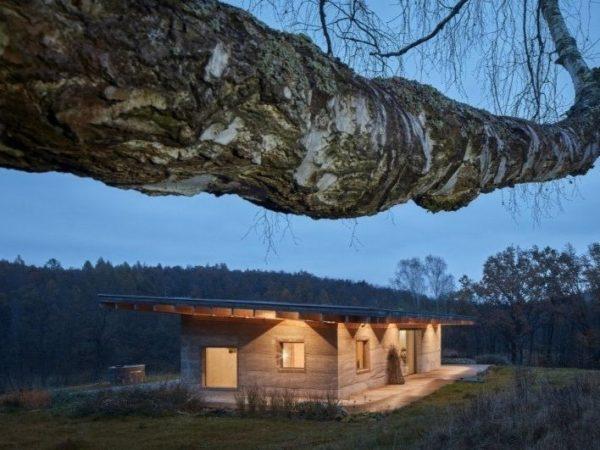 Construcción de casas con hempcrete, substitución sostenible del hormigón